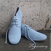 Обувь ручной работы handmade. Livemaster - original item Shoes genuine suede. Handmade.