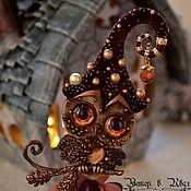Украшения handmade. Livemaster - original item Owl