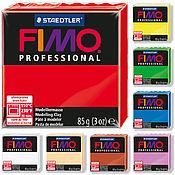 Глина ручной работы. Ярмарка Мастеров - ручная работа Fimo Professional все цвета полимерная глина 85 гр. Handmade.