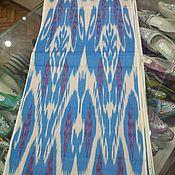 Материалы для творчества handmade. Livemaster - original item Uzbek cotton ikat hand weaving. FM137. Handmade.