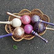 Куклы и игрушки ручной работы. Ярмарка Мастеров - ручная работа Погремушки - маракасы детские. Handmade.