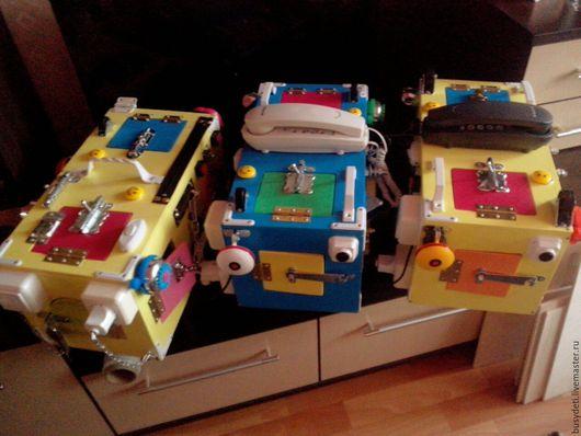 Развивающие игрушки ручной работы. Ярмарка Мастеров - ручная работа. Купить Бизибоксы. Handmade. Бизиборд, бизиборд москва, бизибокс