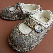 """Обувь ручной работы. Ярмарка Мастеров - ручная работа Тапки валяные домашние """"Уютные"""". Handmade."""