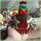 Куклы и игрушки ручной работы. Ярмарка Мастеров - ручная работа Игрушки петушки и курочки, новогодние, сувенирные, пасхальные.. Handmade.