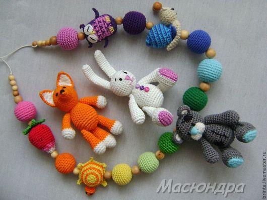 Развивающие игрушки ручной работы. Ярмарка Мастеров - ручная работа. Купить Слингобусы со сменными игрушками. Handmade. Слингобусы