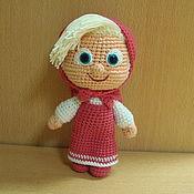 Мягкие игрушки ручной работы. Ярмарка Мастеров - ручная работа Кукла Маша МК. Handmade.