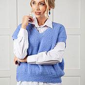 Одежда handmade. Livemaster - original item Handmade HYACINTH Vest 44-48p.. Handmade.