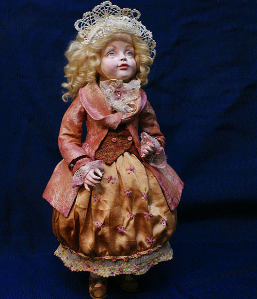 """Коллекционные куклы ручной работы. Ярмарка Мастеров - ручная работа. Купить Авторская кукла """"Бетси"""". Handmade. Игровая кукла"""