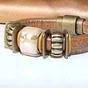 Украшения handmade. Livemaster - original item Bracelet Regaliz Dunes. Handmade.