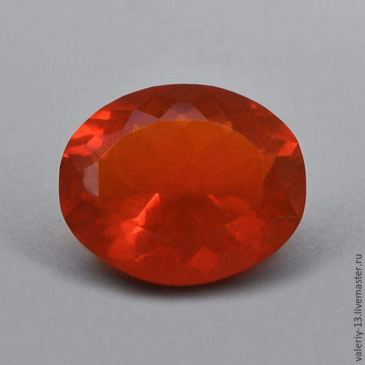 Fire Opal 7,1x6. 0,7 mm.  ct, Cabochons, Rostov-on-Don,  Фото №1