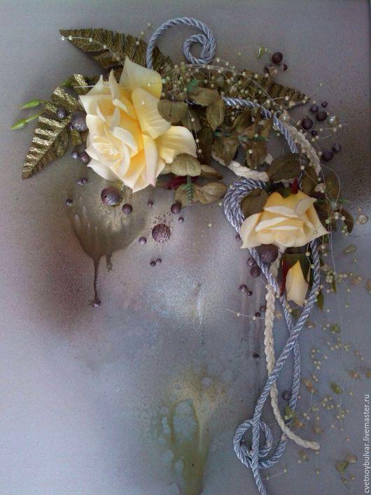 Картины цветов ручной работы. Ярмарка Мастеров - ручная работа. Купить Моя любимая. Handmade. Комбинированный, воздушная, цветы