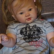 Куклы и игрушки ручной работы. Ярмарка Мастеров - ручная работа НИНОЧКА из молда- Romee. Handmade.