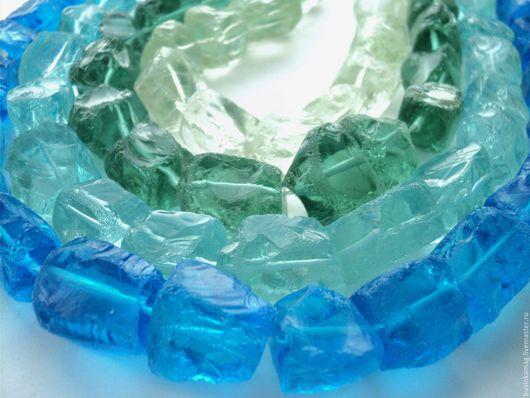 Для украшений ручной работы. Ярмарка Мастеров - ручная работа. Купить Аква кварц камни в ассортименте 16-23мм. Handmade.