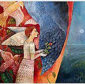 """Картины и панно ручной работы. Ярмарка Мастеров - ручная работа """"Скоро весна""""  Бронь.. Handmade."""