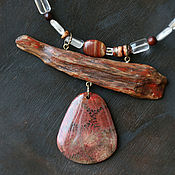Украшения handmade. Livemaster - original item Necklace: in the boho style
