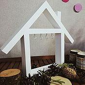 Ключницы ручной работы. Ярмарка Мастеров - ручная работа Ключница-домик. Handmade.