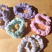 Украшения ручной работы. Ярмарка Мастеров - ручная работа Резиночкикупить для волос 3 пары/ трикотаж ,ассортимент. Handmade.