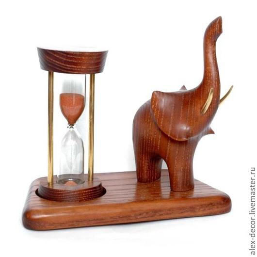Часы для дома ручной работы. Ярмарка Мастеров - ручная работа. Купить Песочные часы Elefant-2. Handmade. Песочные часы