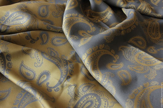 Шитье ручной работы. Ярмарка Мастеров - ручная работа. Купить 23601 двусторонний итальянский шелк Etro. Handmade. Комбинированный