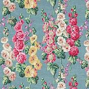 Материалы для творчества ручной работы. Ярмарка Мастеров - ручная работа Ткань для штор Sanderson Hollyhocks. Handmade.
