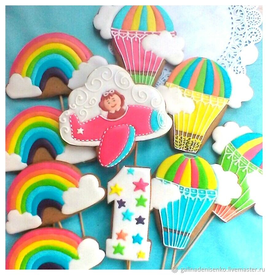 Gingerbread Birthday. Gingerbread Toppers, Gingerbread Cookies Set, Rostov-on-Don,  Фото №1