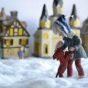 Сувениры и подарки handmade. Livemaster - original item Christmas toy: cartoon character