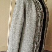 Одежда ручной работы. Ярмарка Мастеров - ручная работа Кардиган оверсайз из супермягкой пряжи меринос. Handmade.