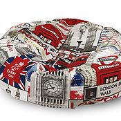 """Для домашних животных, ручной работы. Ярмарка Мастеров - ручная работа Лежанка для собаки """"Лондон"""". Handmade."""