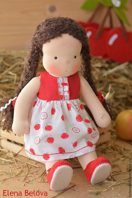 Вальдорфская игрушка ручной работы. Ярмарка Мастеров - ручная работа. Купить Вальдорфская кукла Полина. Handmade. Вальдорфская кукла