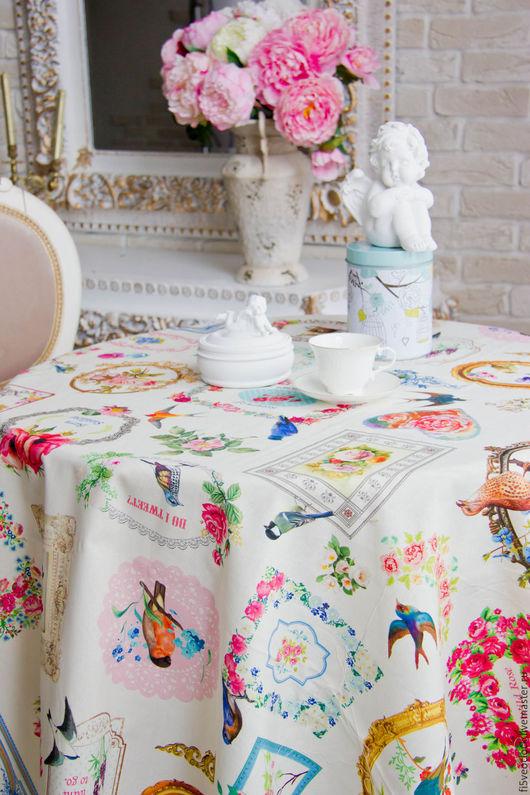 Текстиль, ковры ручной работы. Ярмарка Мастеров - ручная работа. Купить райский сад. Handmade. Скатерть ручной работы