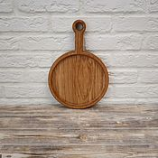 Посуда handmade. Livemaster - original item Roung serving board. Handmade.