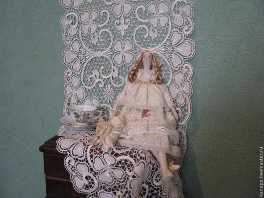 Куклы Тильды ручной работы. Ярмарка Мастеров - ручная работа. Купить Шебби шик. Handmade. Кремовый, подарок девушке, тильда