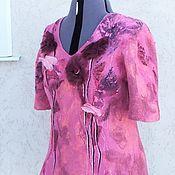 Одежда handmade. Livemaster - original item Blouse felted