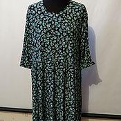 Одежда ручной работы. Ярмарка Мастеров - ручная работа Платье мятный цветочек. Handmade.