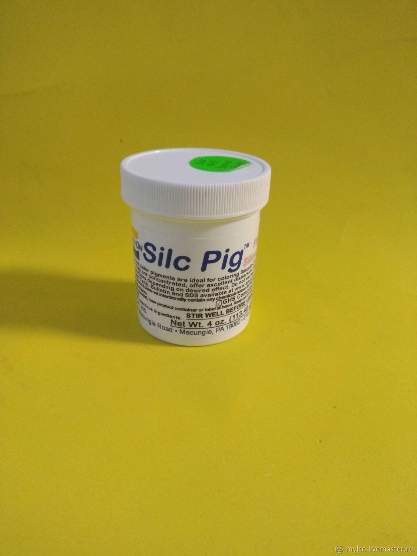 Краситель для силикона silc pig