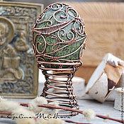 Сувениры и подарки handmade. Livemaster - original item The egg of the coil and the copper wire