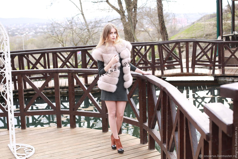 Fur vest from Fox, Vests, Pyatigorsk,  Фото №1