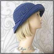 Аксессуары handmade. Livemaster - original item Hat JEANS. Handmade.
