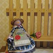 Куклы и игрушки ручной работы. Ярмарка Мастеров - ручная работа Заюшка бабушка. Handmade.