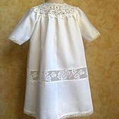 Работы для детей, ручной работы. Ярмарка Мастеров - ручная работа Крестильная рубашка. Handmade.