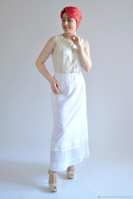 Summer white skirt from Batista.