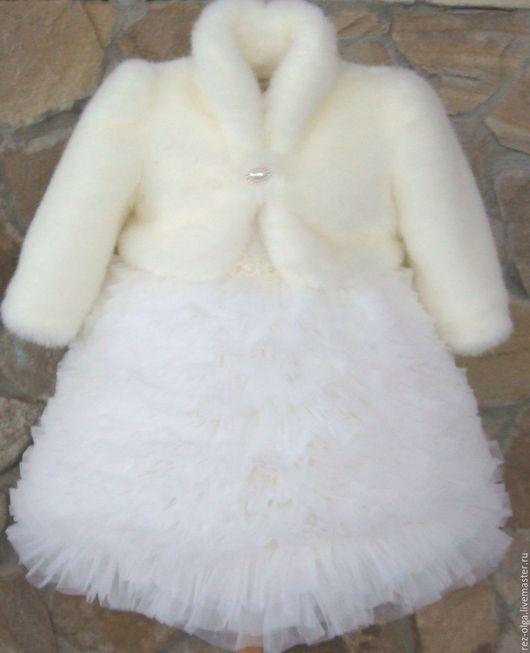 """Одежда для девочек, ручной работы. Ярмарка Мастеров - ручная работа. Купить Нарядный комплект для девочки """"Ванильное облачко"""". Handmade."""