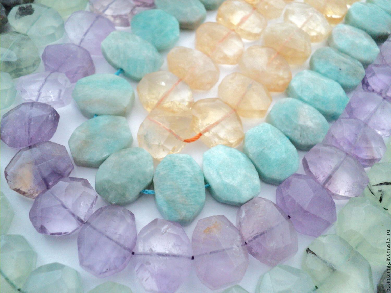 All for Jewelry Making handmade. Livemaster - handmade. Buy Labradorite, prehnite, Ametrine, Citrine, amazonite stones friform 14-16mm.