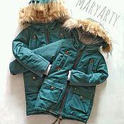 Одежда ручной работы. Ярмарка Мастеров - ручная работа Парка , куртка детская с мехом. Handmade.