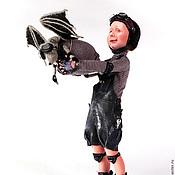 Куклы и игрушки ручной работы. Ярмарка Мастеров - ручная работа Авторская кукла. К взлету готов!. Handmade.
