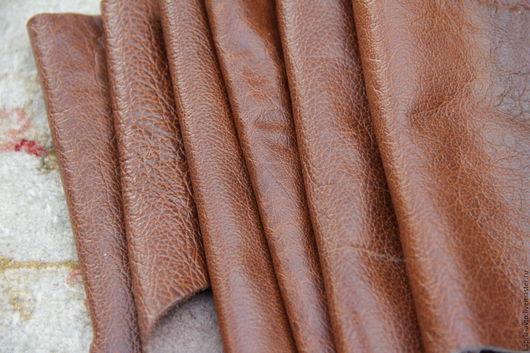 Шитье ручной работы. Ярмарка Мастеров - ручная работа. Купить №8.11 Коричневая.1мм.1211 грамм Натуральная кожа. Handmade.