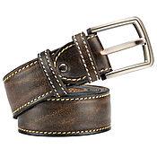 handmade. Livemaster - original item Leather belt