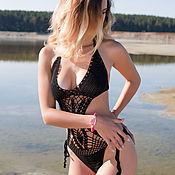 Купальник-монокини вязанный крючком Samantha