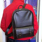 Сумки и аксессуары handmade. Livemaster - original item Backpack leather 122. Handmade.