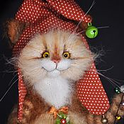 Куклы и игрушки handmade. Livemaster - original item CAT-HAPPY NEW YEAR. Handmade.